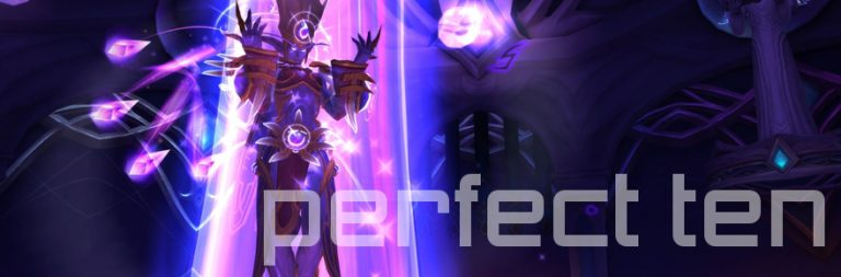 Perfect Ten: World of Warcraft's multicolored elf rainbow