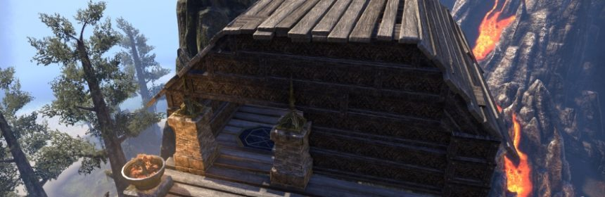 One Elder Scrolls Online Player Builds A House Out Of Housing Decorations
