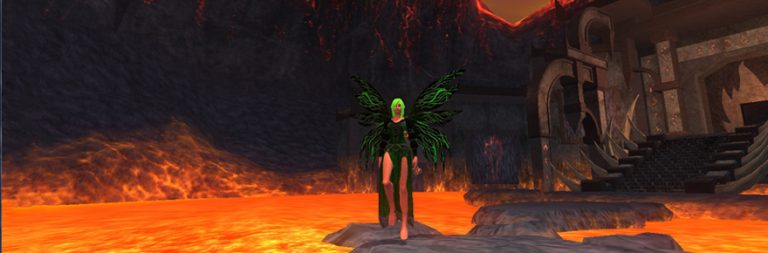 EverQuest II's newest progression server enters the Desert of Flames while production servers prepare for the Planes of Prophecy expansion