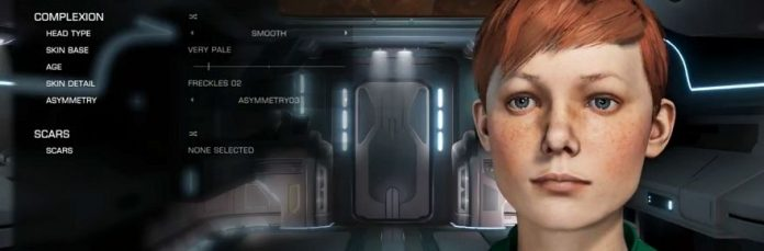 You need to see Elite Dangerous' new character creator, 'Holo-Me