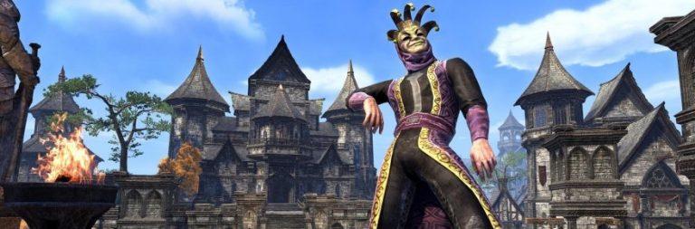 Elder Scrolls Online plans in-game jester-themed festival events for April Fools' Day