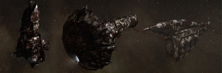 EVE Online plans Blood Raider capital ships with dedicated bays for player corpses