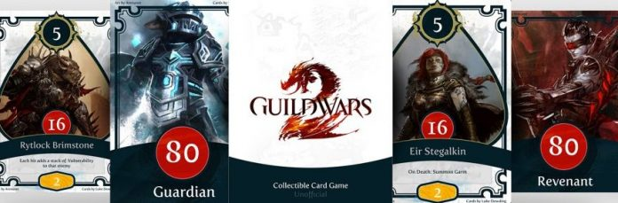 Fan creates Guild Wars 2 themed collectible card game | Massively