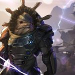 The krogan, forever charging.