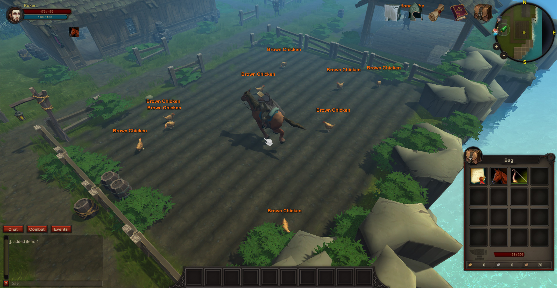 MMORPG sandbox Arcfall is headed to Steam early access