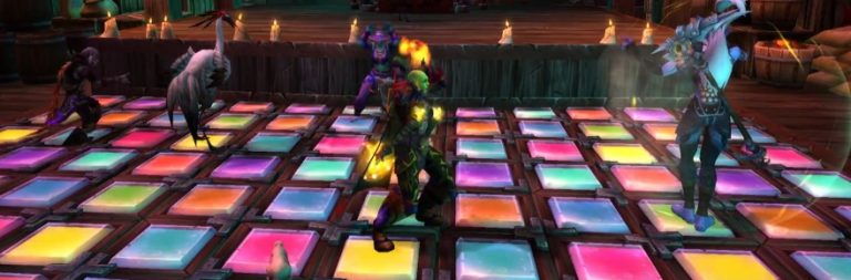World of Warcraft's dance party and trial of style look like goofy fun
