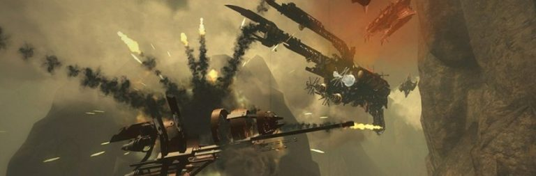 Guns of Icarus patches in a new map and Kickstarter rewards for hamster fans