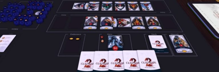 Guild Wars 2's unofficial card game is now available on Tabletop Simulator