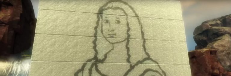 Guild Wars 2 player recreates Mona Lisa in guild hall