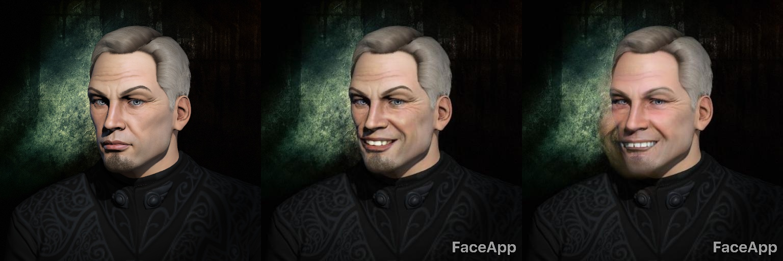 Using FaceApp on EVE Online avatars is the best thing ever
