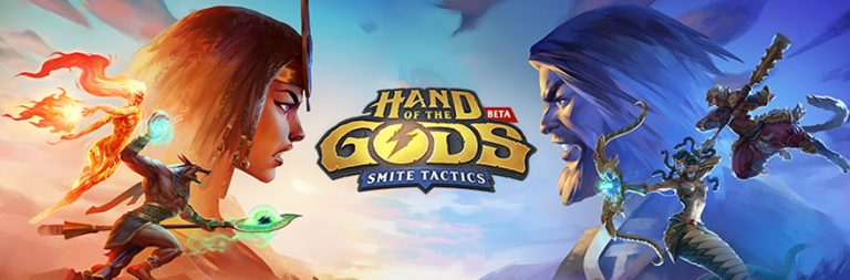 SMITE Tactics has been renamed Hand of the Gods – enter to win a beta key to check it out!