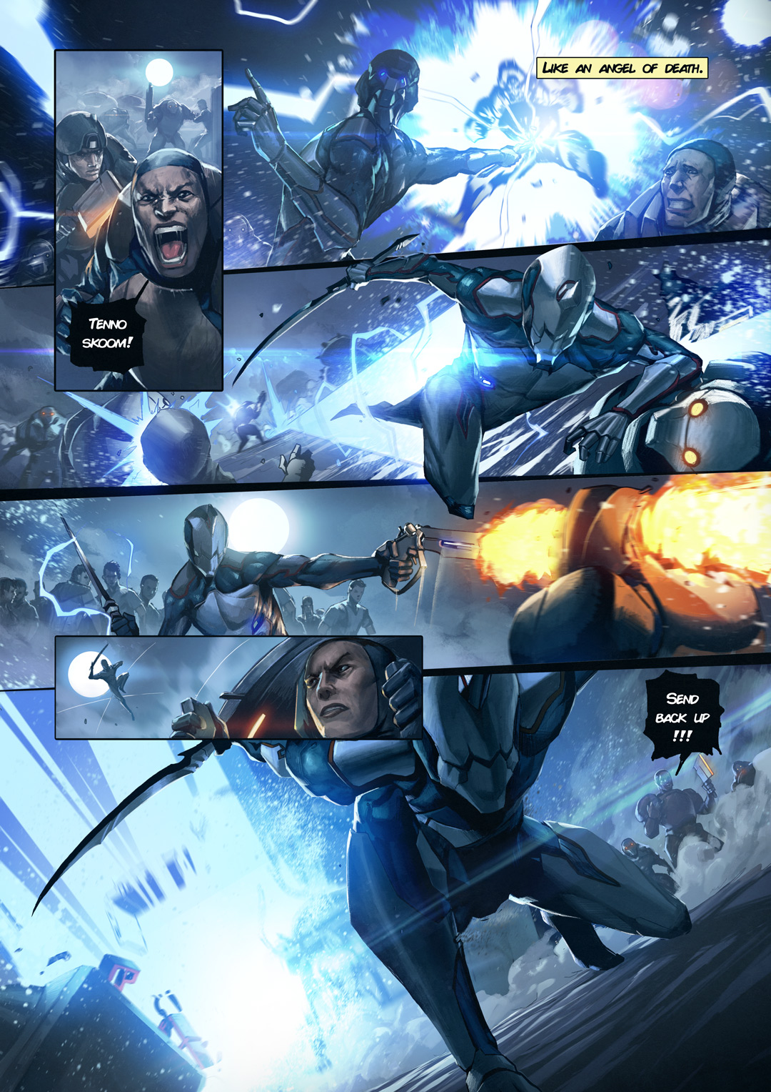 Warframe and Top Cow to produce exclusive comic book ...