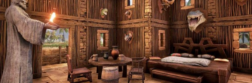 Conan Exiles Goes Nuts With Home Decoration And Defense