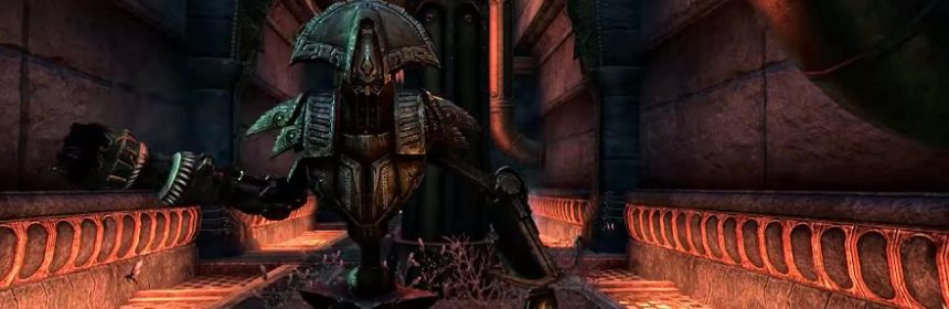 Elder scrolls online previews morrowinds dwemer ruins
