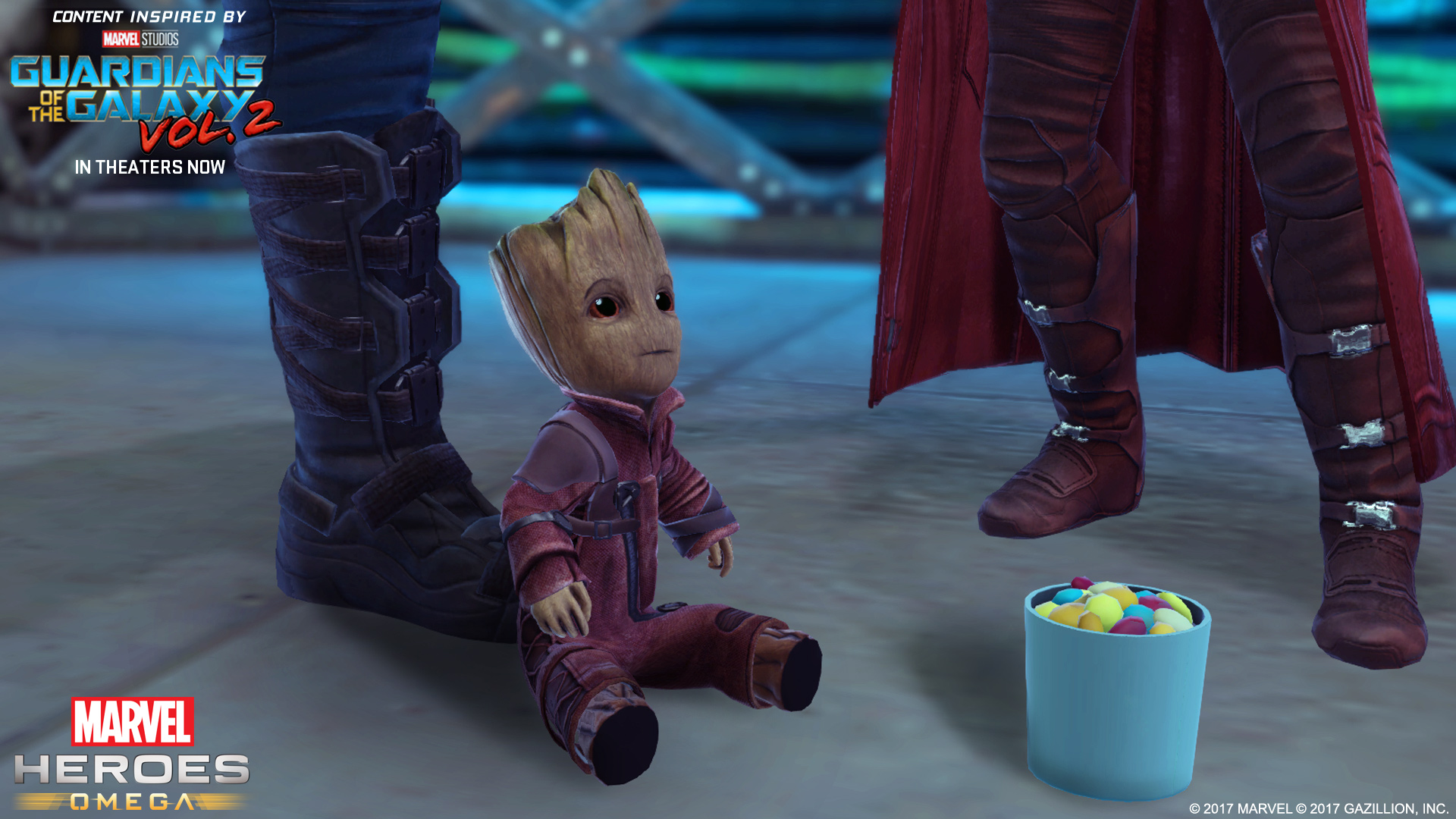 Marvel Heroes' Guardians of the Galaxy Vol  2 promo video is