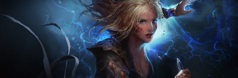 Take a look at Path of Exile's new Charged Dash skill in action