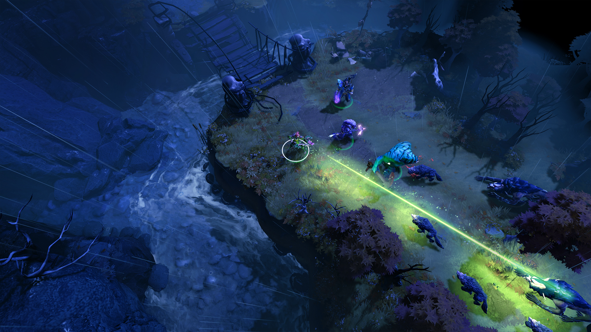 Siltbreaker, the first chunk of Dota 2's co-op PvE campaign