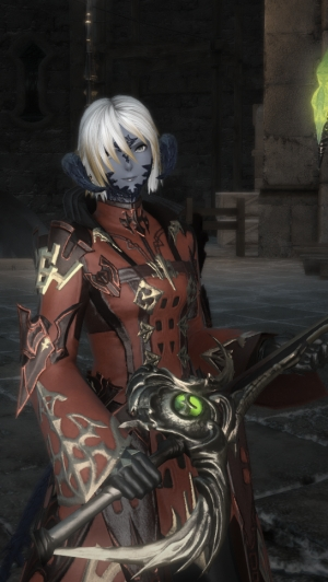 Lovely lizard, reddest mage, where would I be without you?