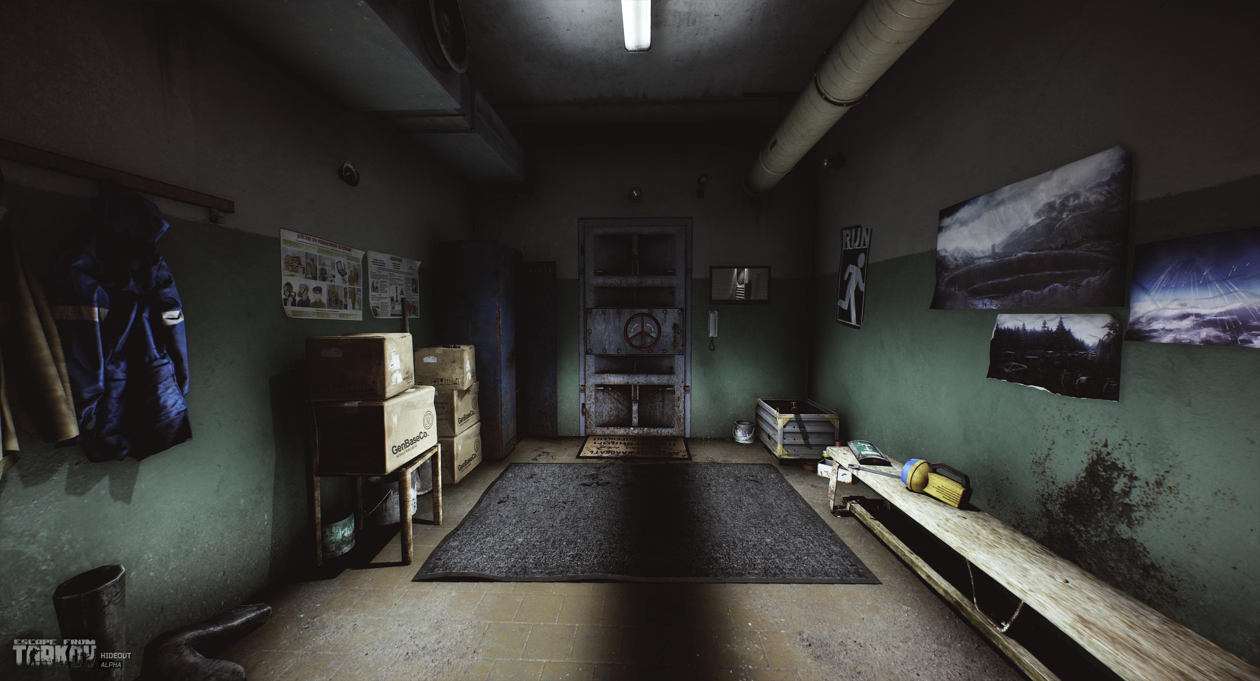 Prep for the apocalypse with Escape From Tarkov's hideouts