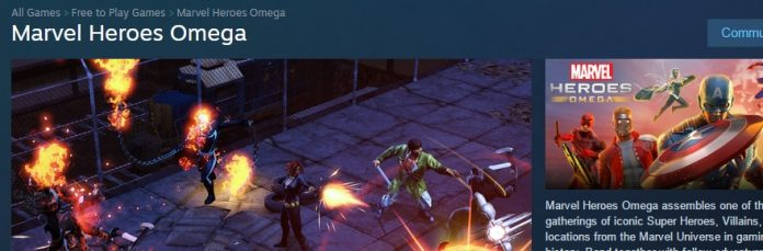 Marvel Heroes is now 'Omega' on Steam for PC players