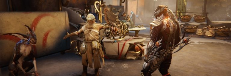 Check out Warframe's MMO-ish Plains of Eidolon expansion reveal right now