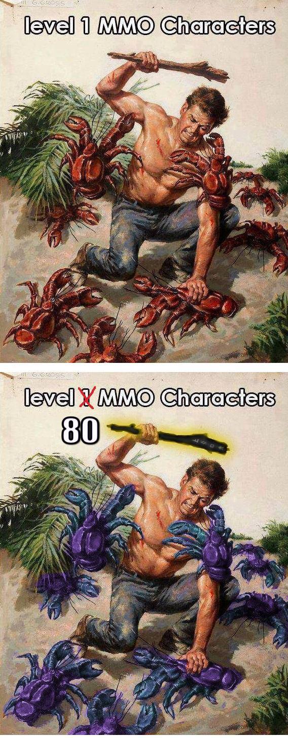 Level-1-MMO-Characters-Vs.-Level-80-MMO-Characters-Battle-Monsters.jpg