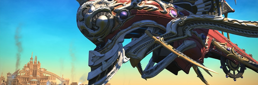 Final Fantasy XIV posts a teaser site for Patch 4 1: The
