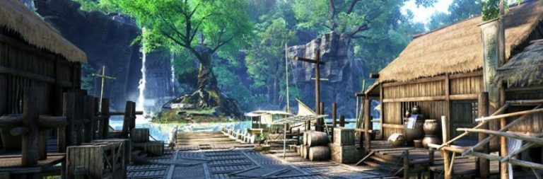 Get an advance look at a few of Age of Wushu 2's locations