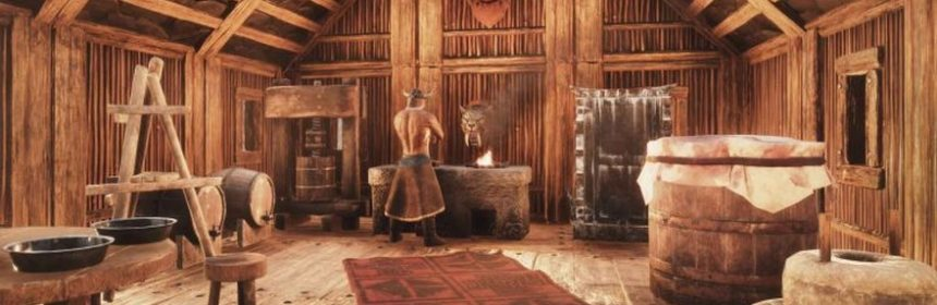 Conan exiles outlines its expanded system of food massively what is best in life ham delicious well cooked ham with some nice potatoes and an appropriate wine dont laugh because thats an important aspect to forumfinder Images