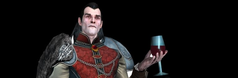 Dungeons and Dragons Online reveals its expansion's head vampire