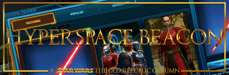 Hyperspace Beacon: Star Wars The Old Republic's cash shop is finally on the right track