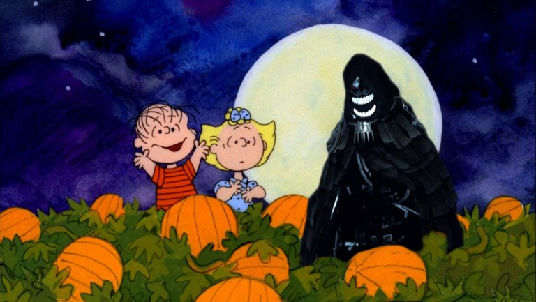 it's the great black spirit ,charlie brown.jpg