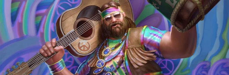 SMITE's Tides of China update is live today, overseen by Super Chill Bacchus