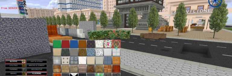 Virtual Earth Online looks like a Minecraft and Second Life mash-up