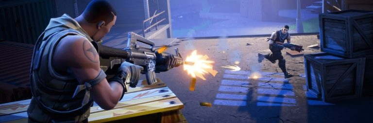 Fortnite adds silencers in its first Battle Royale update of 2018