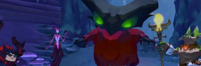 Who's a cute little demon creature?