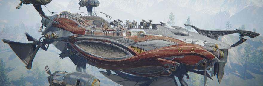 Guns and ships.