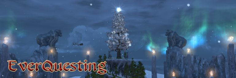 EverQuesting: Frostfell blues and end of the year news for EverQuest II