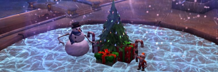 A very World of Warcraft Christmas