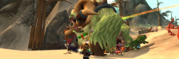 abominable greenches kissing under the mistletoe fruitcake and snowball fights winter veil must be here world of warcraft - World Of Warcraft Christmas