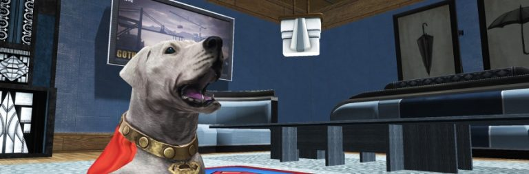 DC Universe Online brings back its anniversary event with a Krypto base pet