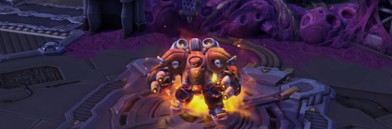 Heroes of the Storm previews the upcoming hero Blaze
