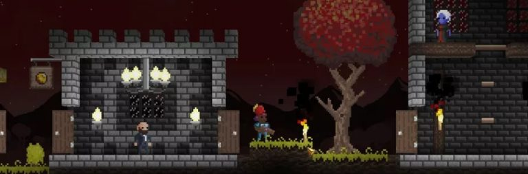 David Brevik reveals a new indie title in the vein of Diablo and Terraria