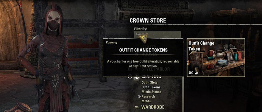 Tamriel Infinium: Elder Scrolls Online's new outfit system is close