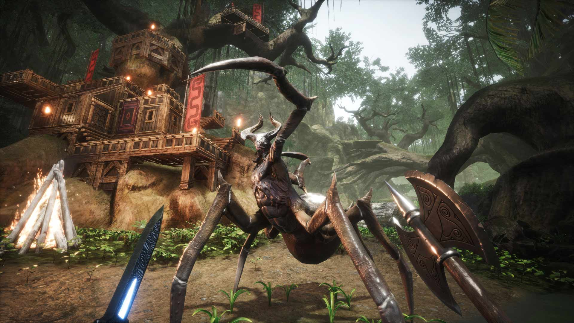 Conan Exiles is delaying mounts, pets, settlements, and sorcery to