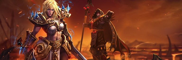 Heroes of the Storm is testing balance changes for Sonya and Medivh