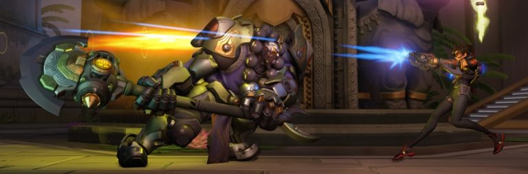Overwatch sets off fireworks and fun for the Lunar New Year