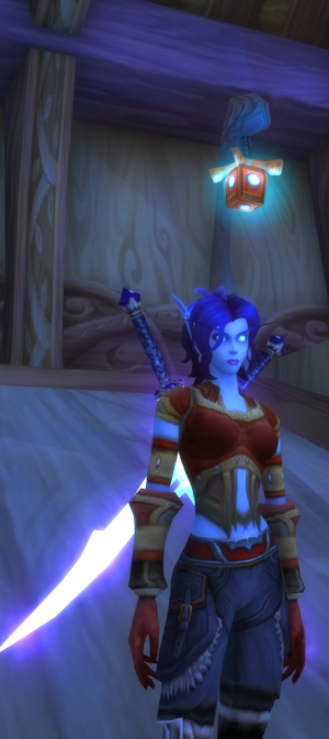 My Void Elf really looks like she should be singing songs we all realize are about her being a lesbian years later.