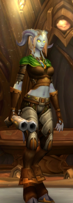 'You are... very shiny for a Draenei.' 'You do not need to bring shine into this.'