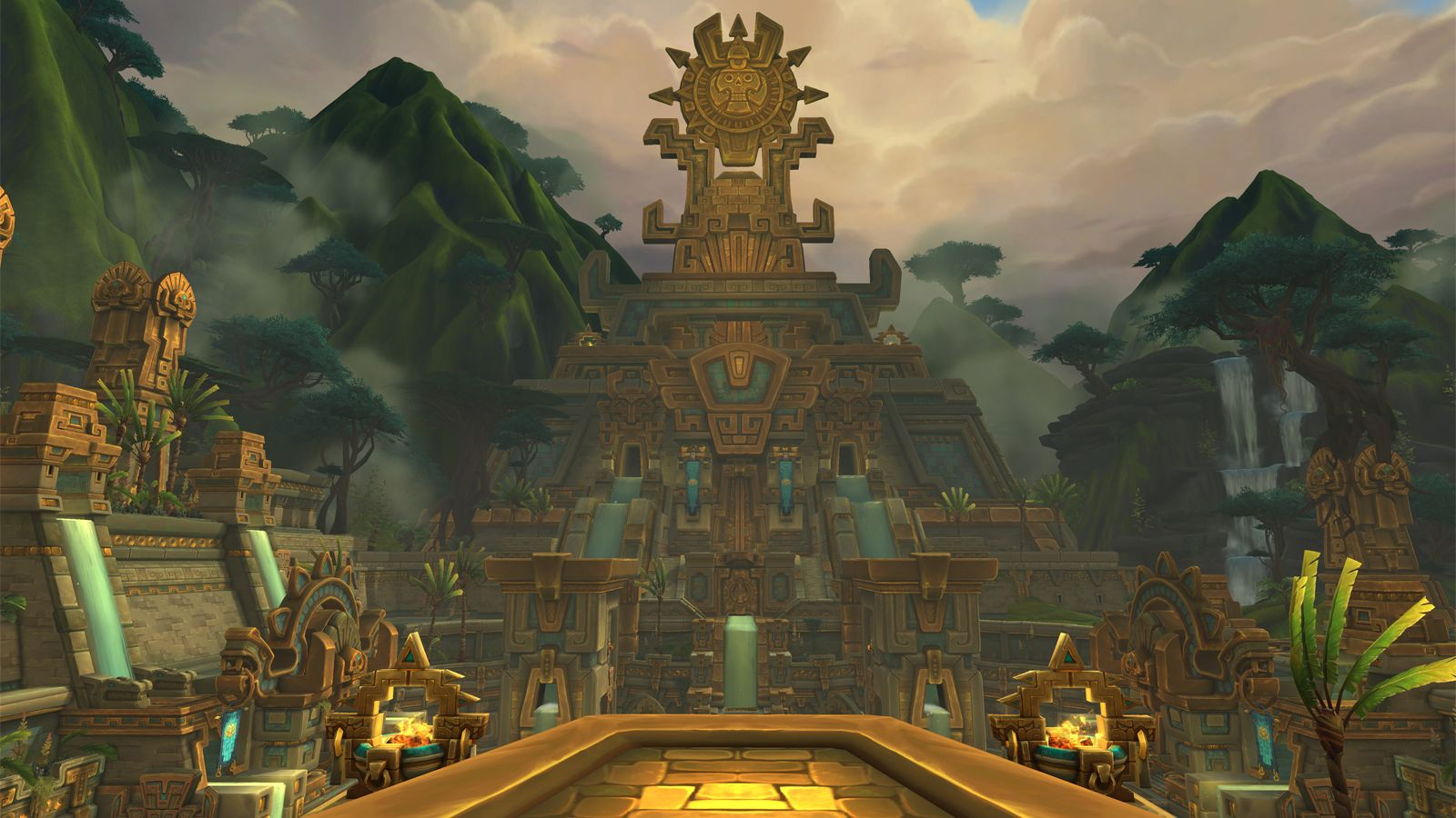 world of warcraft massively overpowered